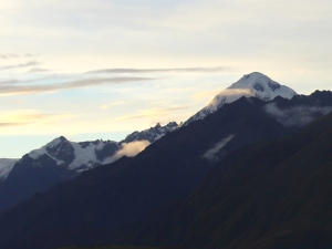 Andean Mountains, March 2014